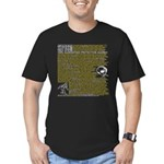Skepticism Men's Fitted T-Shirt (Dark)