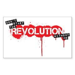 Revolution Sticker (Rectangle)