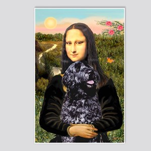 Mona Lisa's PWD (5) Postcards (Package of 8)