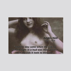 Erotic Stories: Anais Nin Rectangle Magnet