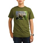 Galapagos Islands Turtle Organic Men's T-Shirt (da