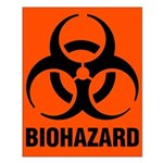 Small Biohazard Poster