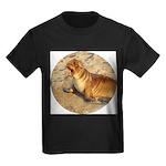Baby Sea Lion Kids Dark T-Shirt