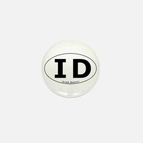 ID Oval Mini Button