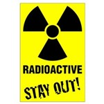Large Radioactive Poster