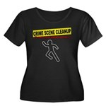 Crime Scene Cleanup Women's Plus Size Scoop Neck D