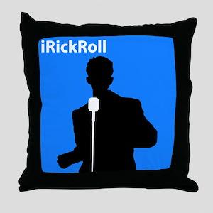 iRickRoll Throw Pillow
