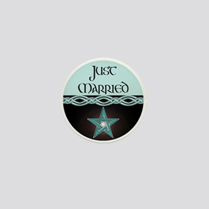 Just Married Mini Button