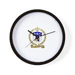 VOUTOUR Family Crest Wall Clock