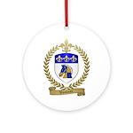 VOUTOUR Family Crest Ornament (Round)