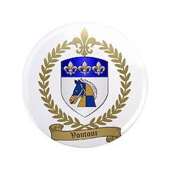 """VOUTOUR Family Crest 3.5"""" Button"""