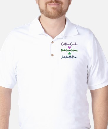 Candle Lines Golf Shirt