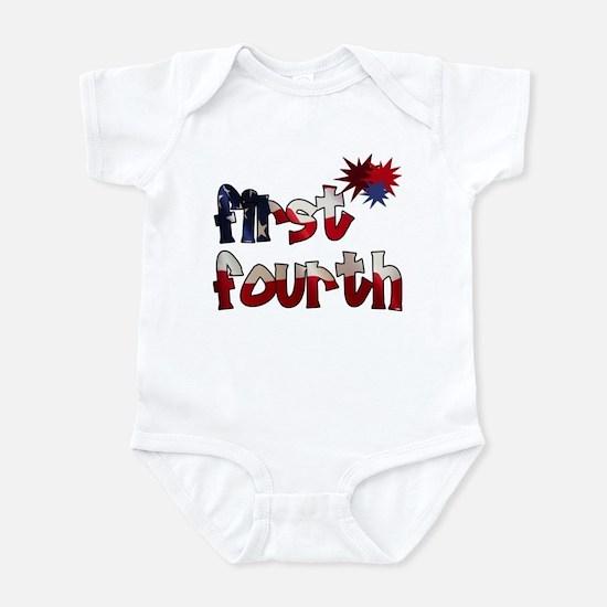 First Fourth - Infant Bodysuit