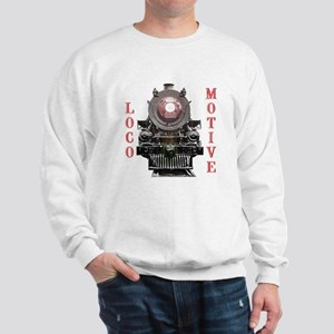 Locomotive Red Sweatshirt