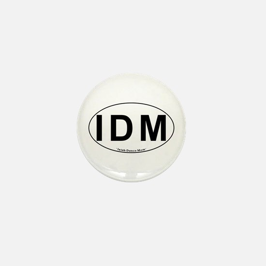 IDM Oval - Mini Button