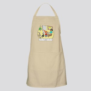 Does the doctor work on cats? BBQ Apron