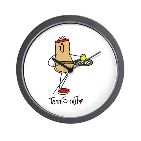 Tennis Nut Wall Clock