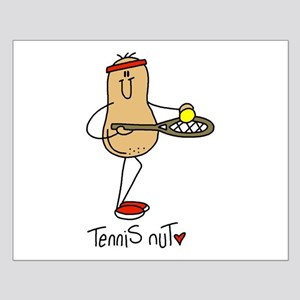 Tennis Nut Small Poster