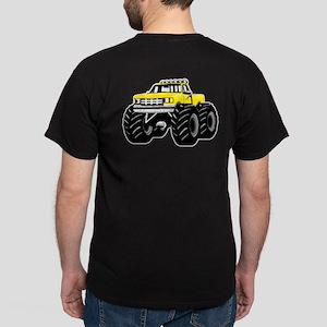 Yellow MONSTER Truck Dark T-Shirt