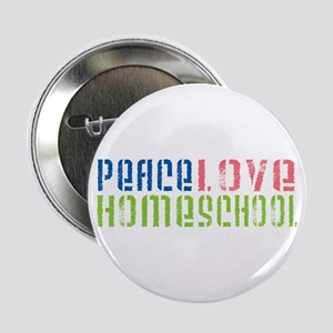 "Peace Love 2.25"" Button"