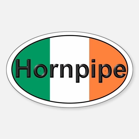 Hornpipe Oval - Oval Decal