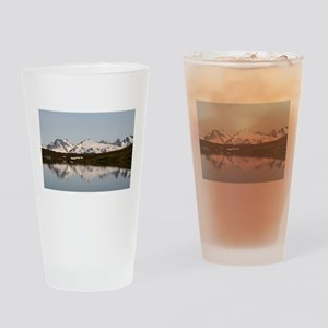 Lake reflections of mountains, Alas Drinking Glass
