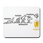 Beer-volution (eng) Mousepad