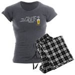 Beer-volution (esp) Women's Charcoal Pajamas