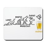 Beer-volution (esp) Mousepad