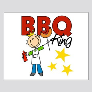 Barbecue King Small Poster