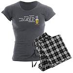 Beer-volution (DE) Women's Charcoal Pajamas