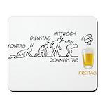 Beer-volution (DE) Mousepad