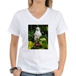 Galapagos Islands Red Footed Women's V-Neck T-Shir
