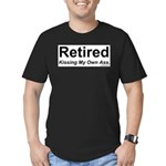 Retirement Men's Fitted T-Shirt (dark)