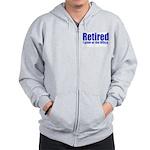 Retirement Zip Hoodie