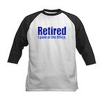 Retirement Kids Baseball Jersey