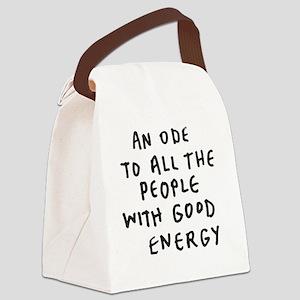 Inspire - Good Energy Canvas Lunch Bag