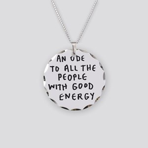 Inspire - Good Energy Necklace Circle Charm
