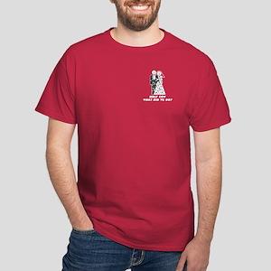 Bride & Groom Wedding Humor Dark T-Shirt
