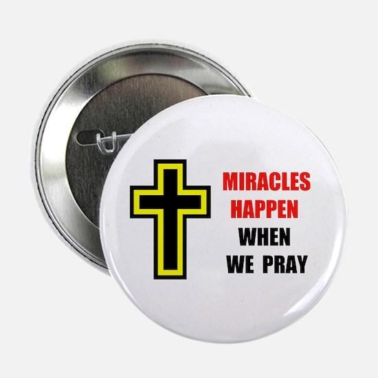 """FAITH ENDURES 2.25"""" Button (10 pack)"""