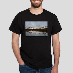 Lake reflections of mountains, Alaska T-Shirt