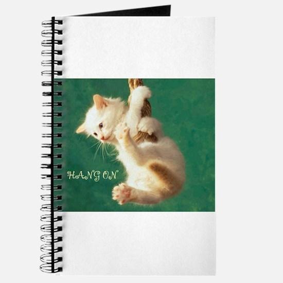 Hang On Cat Journal