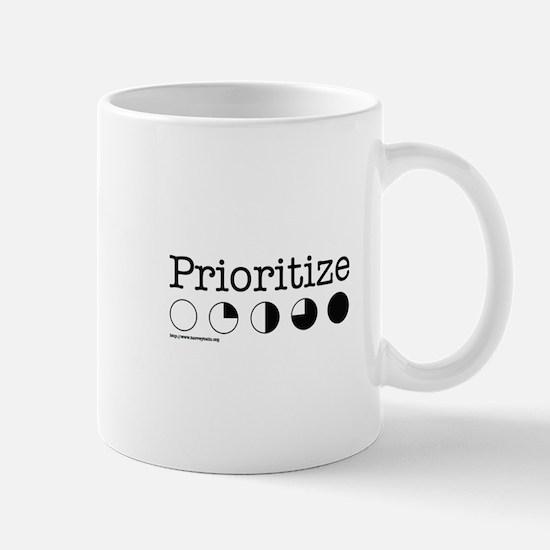 Prioritize Harvey Balls Mug