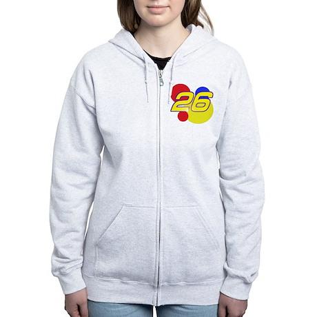 R. Bobby Women's Zip Hoodie
