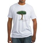 Best Day to Plant Fitted T-Shirt