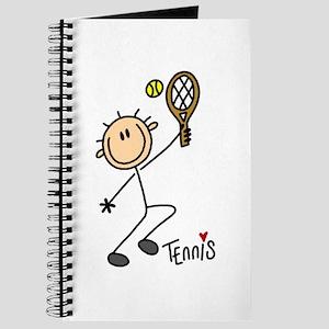 Tennis Stick Figure Journal