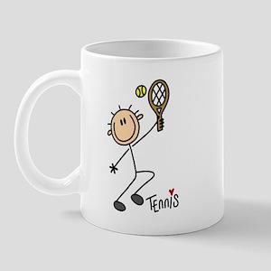 Tennis Stick Figure Mug