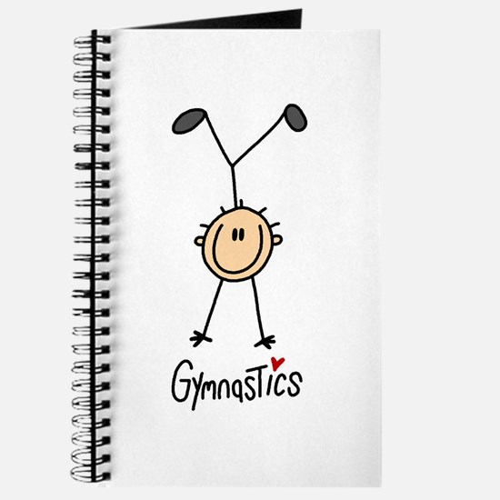 Gymnastics Stick Figure Journal