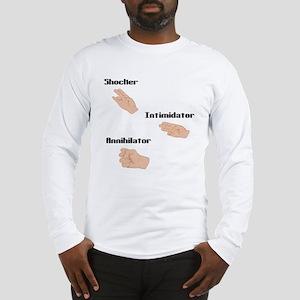 Triple Shocker Long Sleeve T-Shirt