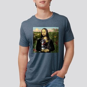 Mona Lisa's Boston Terrier Ash Grey T-Shirt